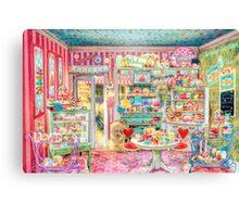 The Little Cake Shop Canvas Print
