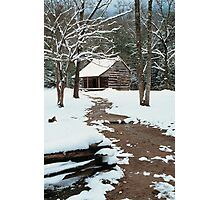 CARTER SHIELDS CABIN Photographic Print
