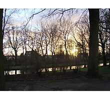 Bruges Sunrise Photographic Print