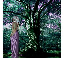 Rose & WitheringMoon: The Enchantress  Photographic Print
