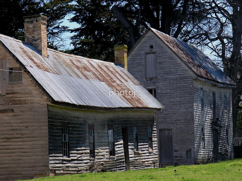 photoj, Tasmania, 'Yesturday's, Archer Family Homestead by photoj