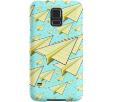 Paper Airplane 10 Samsung Galaxy Case/Skin
