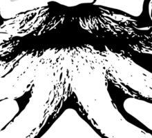 Bavarian Mo - Movember Overachiever Sticker