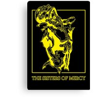 The Sisters Of Mercy - The Worlds End - Front Yellow Canvas Print