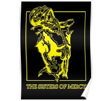 The Sisters Of Mercy - The Worlds End - Front Yellow Poster
