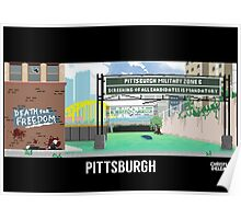 The Last Of Us Demastered - Pittsburgh Poster
