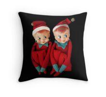 CHRISTMAS ELVES PILLOW AND OR TOTE BAG THE MAJIC OF CHRISTMAS Throw Pillow