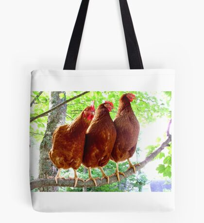 Chick chick chicken Tote Bag