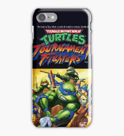 TURTLES - TOURNAMENT FIGHTERS JAPANESE ARTWORK  iPhone Case/Skin