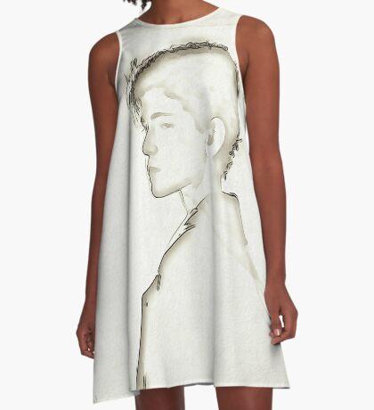 Subtle Bruce A-Line Dress