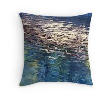Pool Reflections XIII Throw Pillow