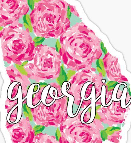 Georgia Lilly Sticker