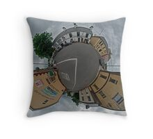 Carrick Crossroads, Donegal - Sky Out Throw Pillow