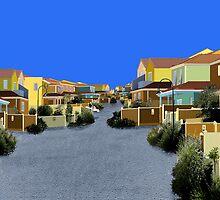 Village Street by GerryGibson