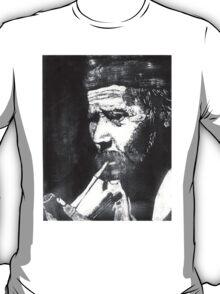 Old Man Smoking T-Shirt