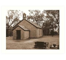 All Saints Church - Western Australia  Art Print