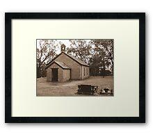 All Saints Church - Western Australia  Framed Print