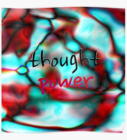 Thought Power Poster