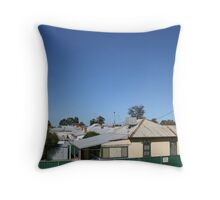 Rooves Throw Pillow