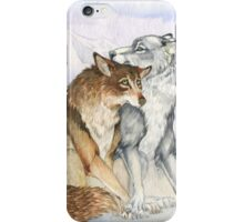 Arctic Werewolves iPhone Case/Skin