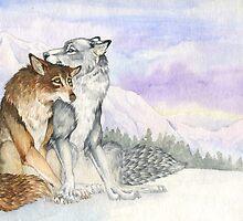 Arctic Werewolves by LauraGarabedian