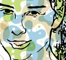Camo Sarah Sticker