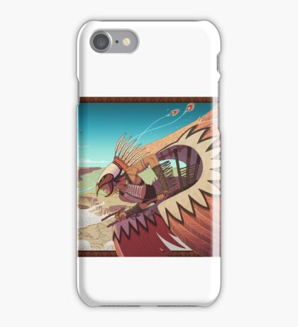 Antinanco and the flying tribes iPhone Case/Skin