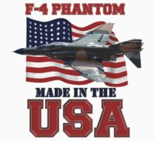 F-4 Phantom Made in the USA Kids Clothes