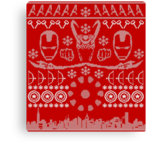 Have a MARVEL-ous Christmas! Canvas Print