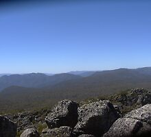 View from Mt. Cobbler, Victoria by Smiles Harry