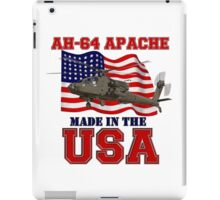 AH-64 Apache Made in the USA iPad Case/Skin