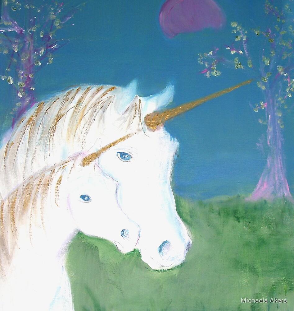 Amid The Unicorns by Michaela Akers