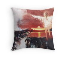Angel of the Yucatan Throw Pillow