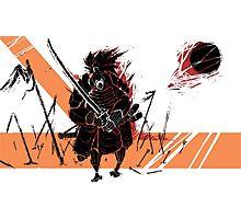 Battle Samurai Photographic Print