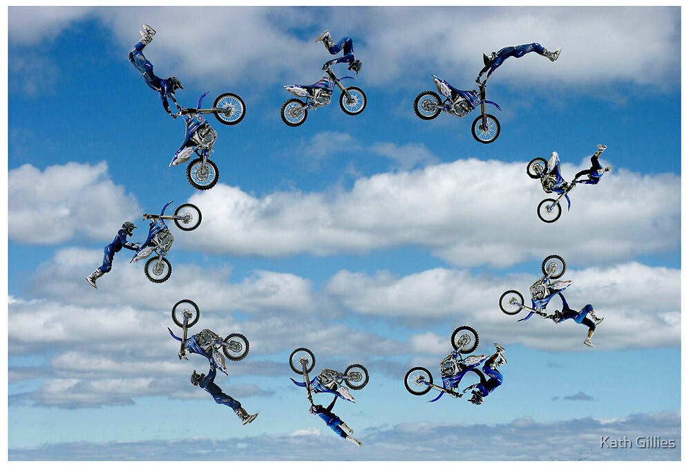 Riding in circles by Kath Gillies