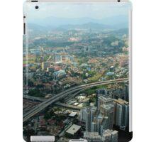 Cityscape - Kuala Lumpur, Malaysia iPad Case/Skin
