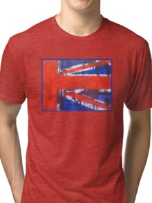 Oasis Union Jack Part1 Tri-blend T-Shirt
