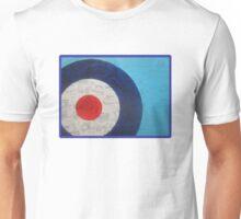 Blue Scooter Target Unisex T-Shirt