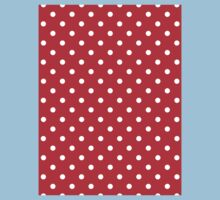 Polkadots Red and White Kids Clothes