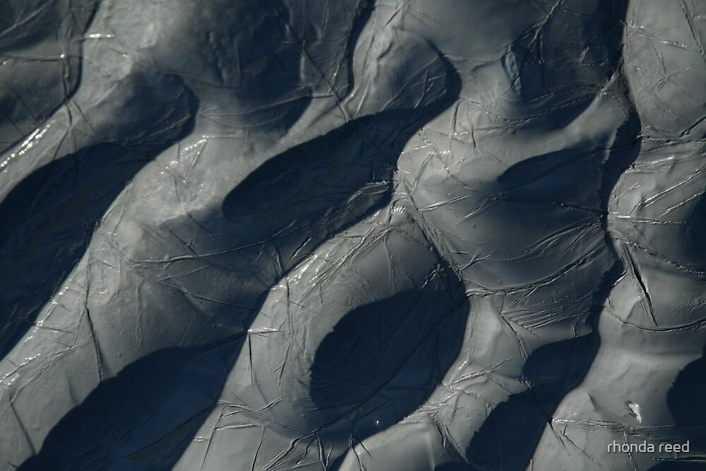 Mud pattern II by rhonda reed