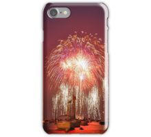 Fireworks Over Lake Michigan iPhone Case/Skin