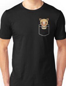 Funny Horse Pocket Gift Unisex T-Shirt