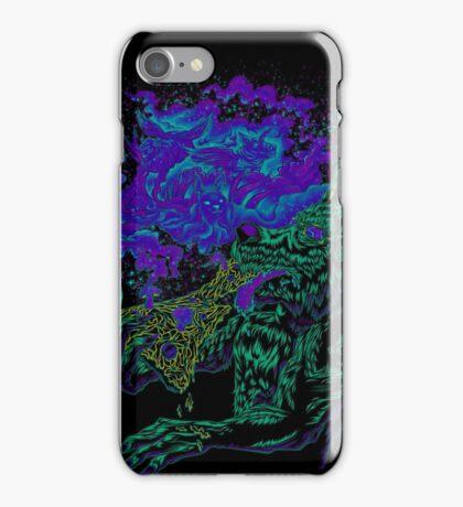 Trippy Wolf iPhone Case/Skin
