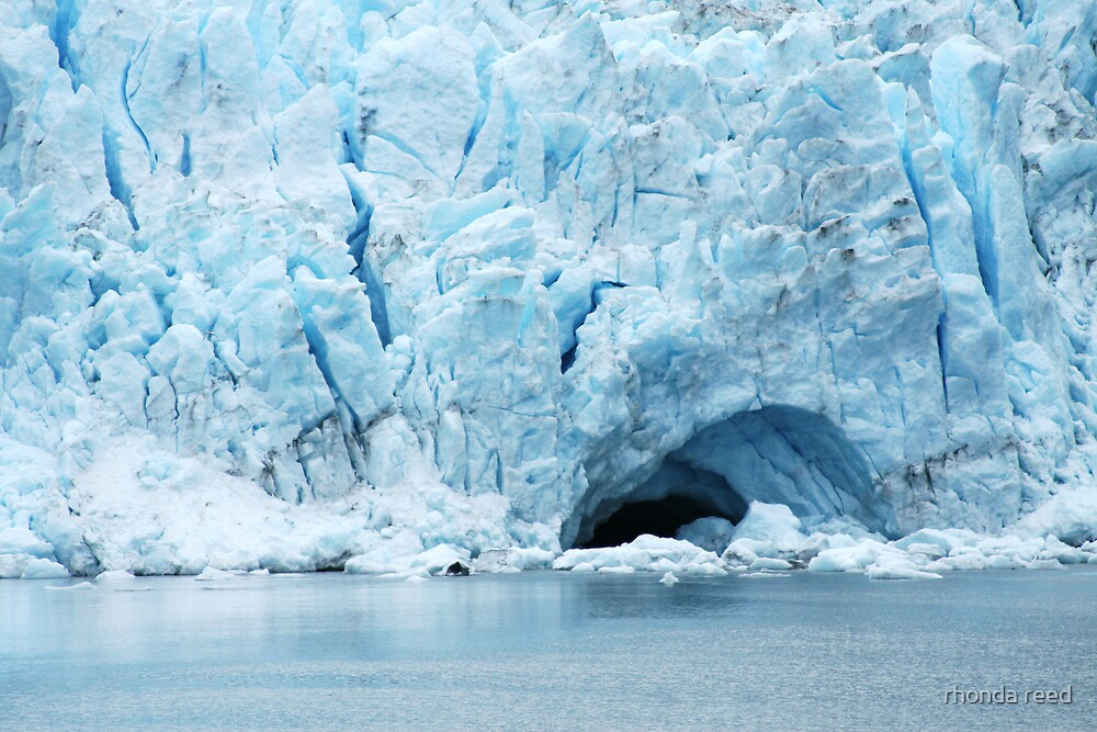 Glacier Cave by rhonda reed