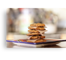 Oatmeal Chocolate Chip Cookies Canvas Print