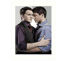 Ianto and Jack Art Print