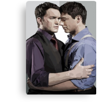 Ianto and Jack Canvas Print