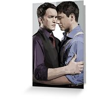 Ianto and Jack Greeting Card