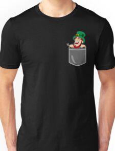 Funny Leprechaun Pocket St Patrick's Day Gift Unisex T-Shirt
