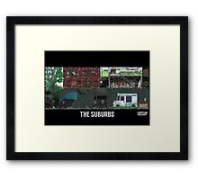 The Last Of Us Demastered - The Suburbs Framed Print